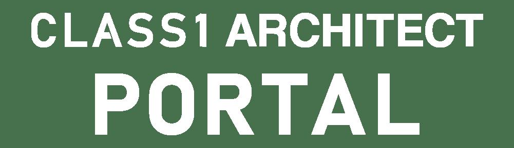 CLASS1 ARCHITECT PORTAL